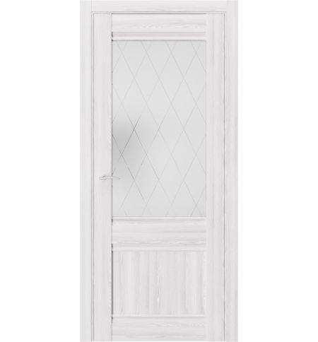 фото: Дверь ПО QS2 Клен Айс из Экошпон