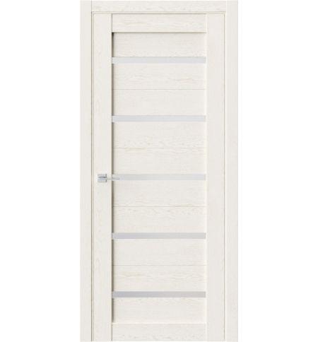 фото: Дверь ПО Q55 Белое золото из Экошпон