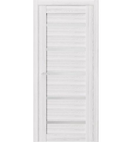фото: Дверь ПО Q55 Клен Айс из Экошпон
