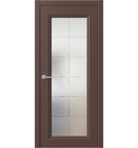 фото: Дверь ПО QN2 Шоколад из Эмаль