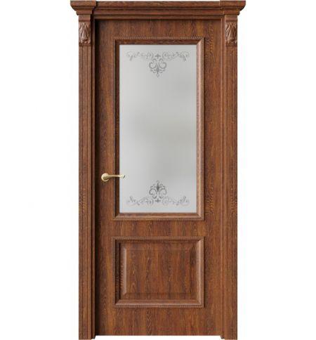 фото: Дверь ПО QG4 Янтарь стекло 1 из Экошпон
