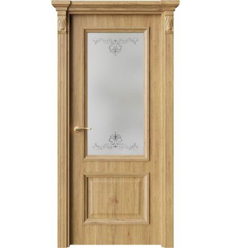 фото: Дверь ПО QG4 Дуб миэли стекло 1 из Экошпон