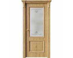 Дверь ПО QG4 Дуб миэли стекло 1 из Экошпон