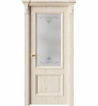 фото: Дверь ПО QG4 Дуб джентл стекло 1 из Экошпон