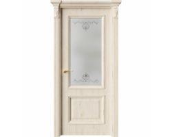 Дверь ПО QG4 Дуб джентл стекло 1 из Экошпон