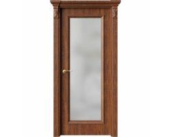 Дверь ПО QG2 Янтарь стекло белое из Экошпон