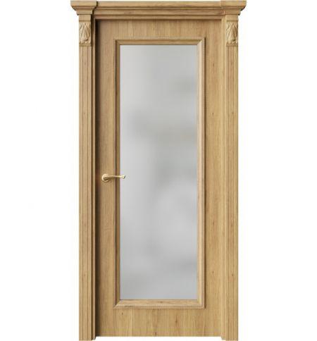 фото: Дверь ПО QG2 Дуб миэли стекло белое из Экошпон