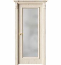 фото: Дверь ПО QG2 Дуб джентл стекло белое из Экошпон