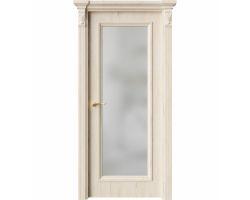 Дверь ПО QG2 Дуб джентл стекло белое из Экошпон