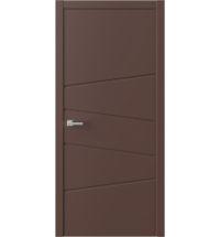 фото: Межкомнатная дверь ПГ QNP16 Шоколад из Эмаль