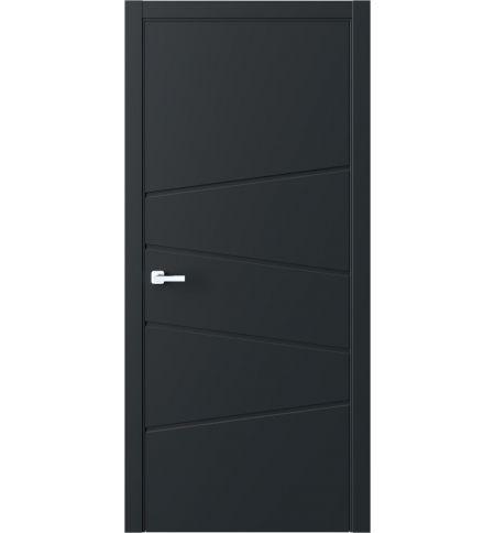фото: Дверь ПГ QNP16 Черный из Эмаль