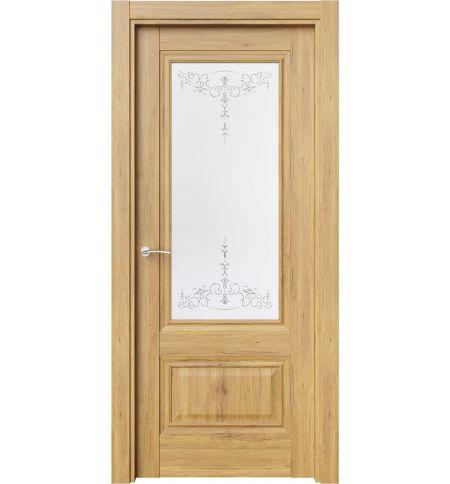 фото: Дверь ПО CH8 Дуб миэли стекло 1 из Экошпон