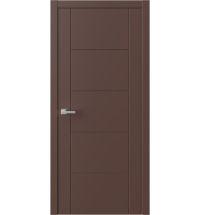 фото: Межкомнатная дверь ПГ QNP3 Шоколад из Эмаль