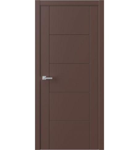 фото: Дверь ПГ QNP3 Шоколад из Эмаль