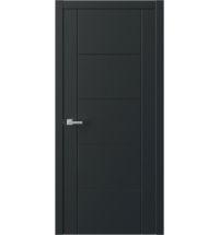 фото: Межкомнатная дверь ПГ QNP3 Черный из Эмаль