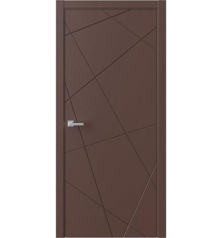 фото: Дверь ПГ QNP1 Шоколад из Эмаль