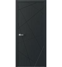 фото: Дверь ПГ QNP1 Черный из Экошпон