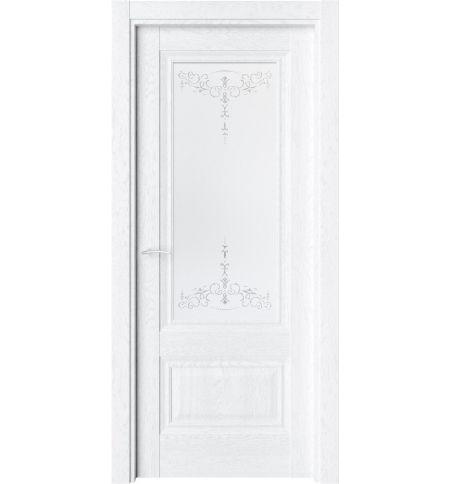 фото: Дверь ПО CH8 Дуб винта стекло 1 из Экошпон