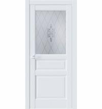 фото: Дверь ПО SE8 Белый Emlayer стекло 1 из Экошпон