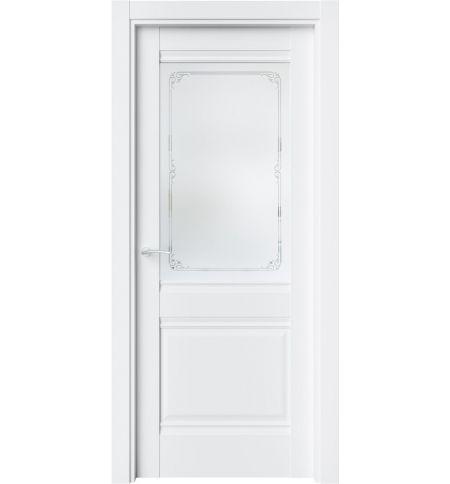фото: Дверь ПО CH6 Белый Emlayer из Экошпон