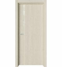 фото: Дверь ПО Стелла Дуб мелинга стекло молочное из Экошпон