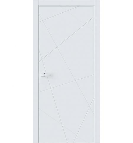 фото: Дверь ПГ P1 Белый из Экошпон