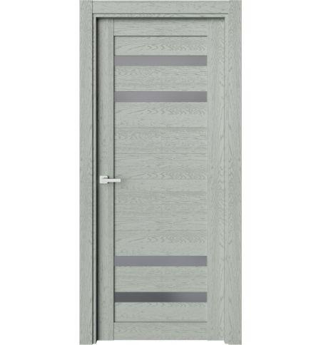 фото: Дверь ПО O20 Дуб эдельвейс стекло графит из Экошпон