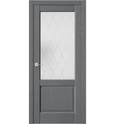 фото: Дверь ПО QXS2 Сильвер из Экошпон