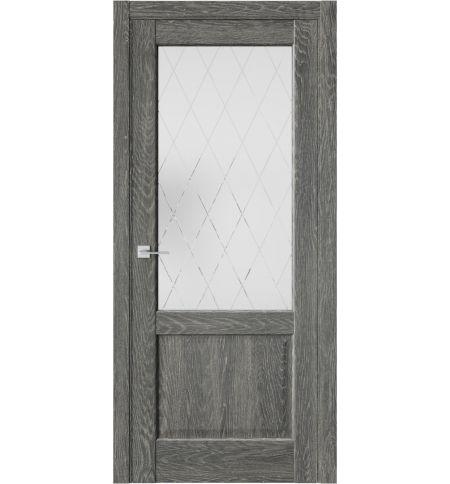 фото: Дверь ПО QXS2 Платинум из Экошпон