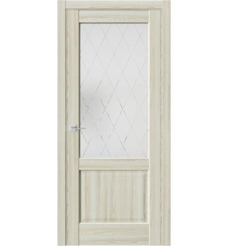 фото: Дверь ПО QXS2 Клен экрю из Экошпон
