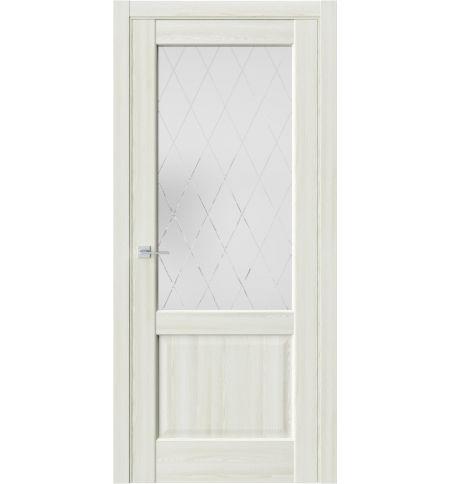 фото: Дверь ПО QXS2 Клен крем из Экошпон