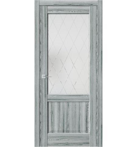фото: Дверь ПО QXS2 Клен грей из Экошпон