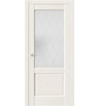 фото: Дверь ПО QXS2 Белое золото из Экошпон