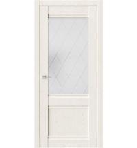 фото: Дверь ПО QS2 Белое золото из Экошпон