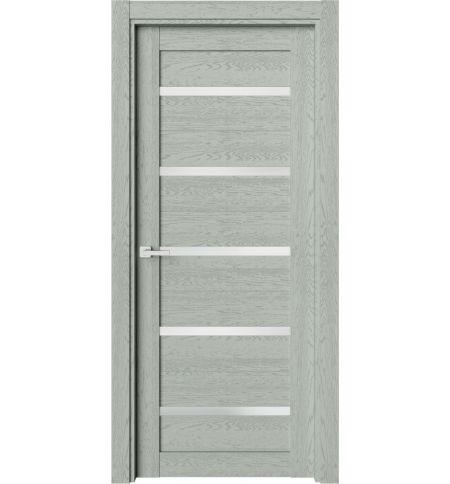 фото: Дверь ПО O1 Дуб эдельвейс из Экошпон