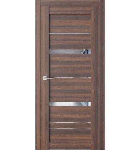 фото: Дверь ПО QZ2 Дуб торонто зеркало из Экошпон