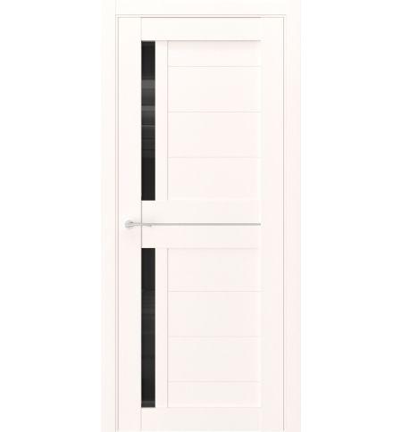 фото: Дверь ПО Q1 Даймонд стекло черное из Экошпон