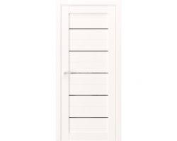Дверь ПО Q12 Даймонд стекло черное из Экошпон