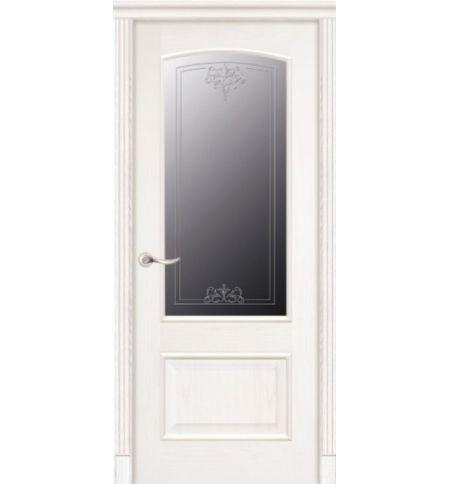 фото: Дверь ПО Рио ясень карамель, стекло Адонис из Шпон