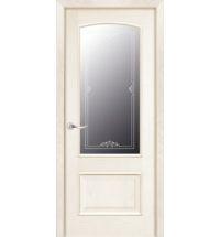 фото: Дверь ПО Рио ясень карамель, стекло Вояж из Шпон