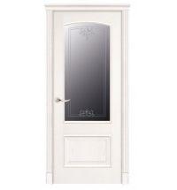 фото: Дверь ПО Рио ясень бланко, стекло Адонис из Шпон