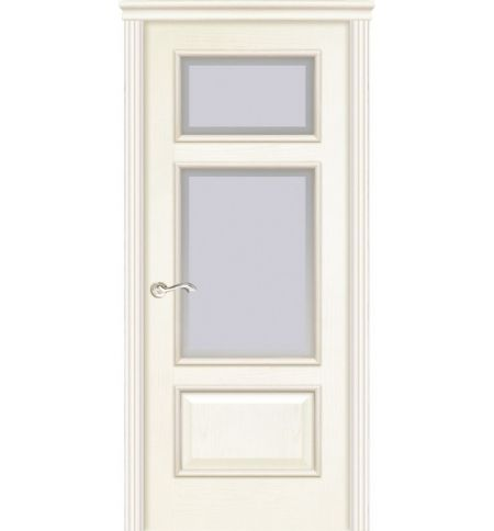 фото: Дверь ПО Монреаль ясень карамель, стекло Фацет из Шпон