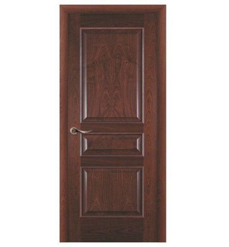 фото: Дверь ПГ Пронто красное дерево из Шпон