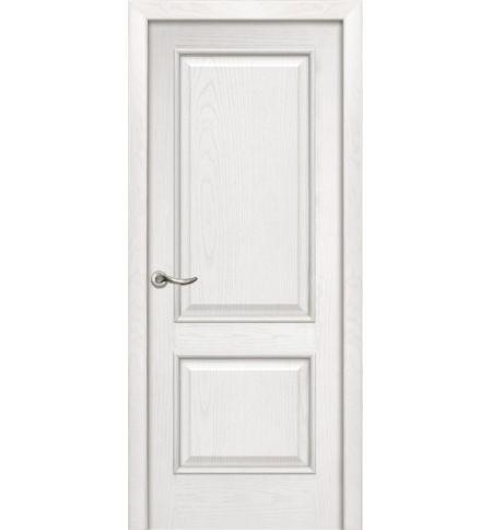 фото: Дверь ПГ Твинс ясень бланко из Шпон