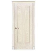 фото: Дверь ПГ Бристоль ясень карамель из Шпон