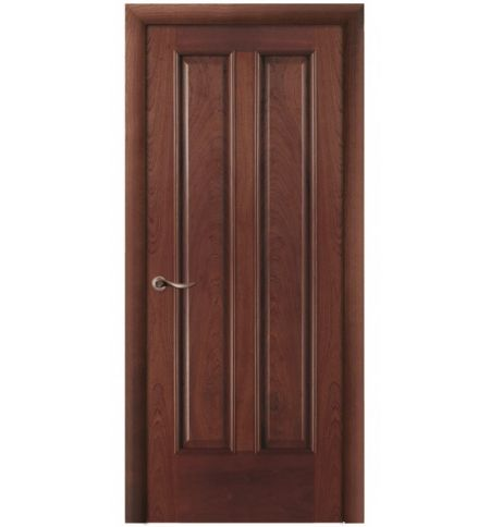 фото: Дверь ПГ Бристоль красное дерево из Шпон