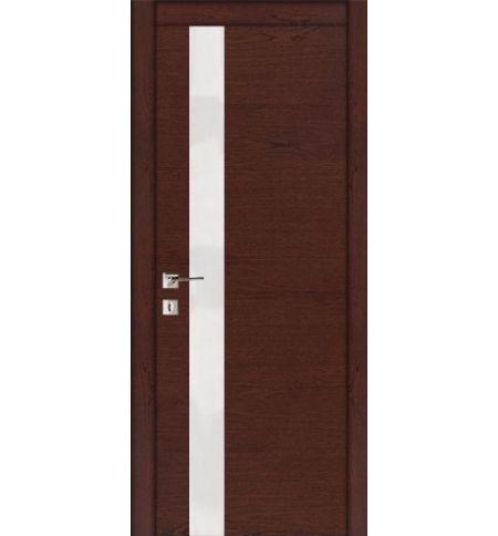 фото: Дверь ПО Геометрия С Красное дерево из Шпон