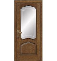 фото: Межкомнатная дверь ПО Сидней дуб миндаль, стекло Моделло из Шпон