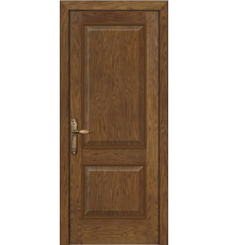 фото: Дверь ПГ Твинс дуб миндаль из Шпон