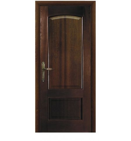 фото: Дверь ПГ Рио дуб миндаль из Шпон